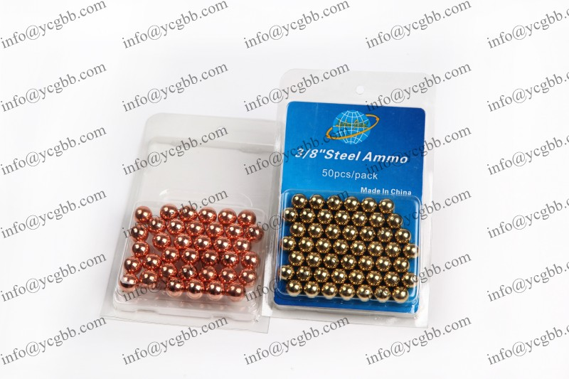 Copper plated steel BBs
